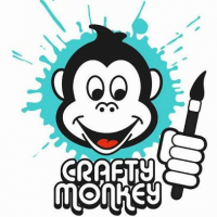 Crafty Monkey Pottery Painting Studio